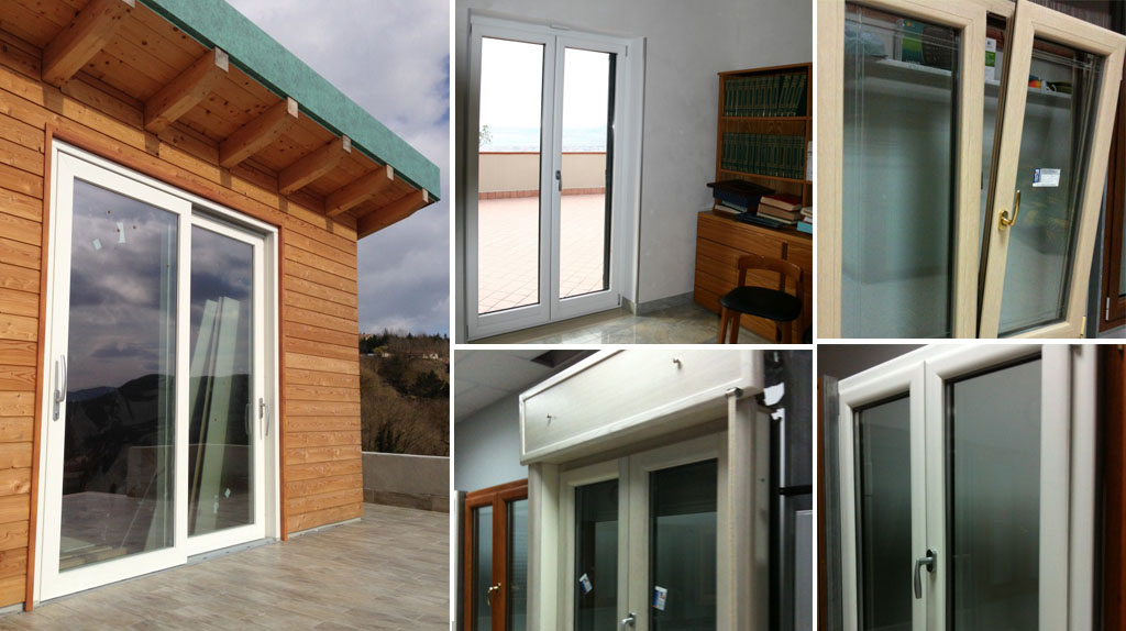 Finestre in alluminio a taglio termico e vetri speciali infissi rota - Condensa finestre alluminio ...