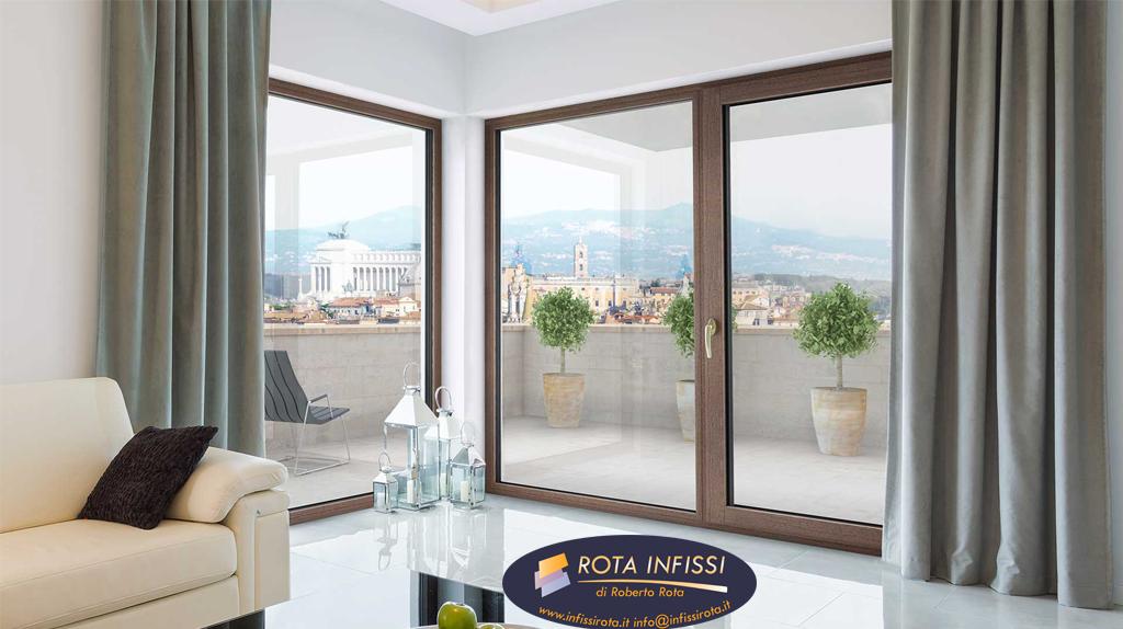 Quanto costano le finestre in pvc alluminio e legno rota infissi di roberto rota - Quanto costa una porta finestra in pvc ...